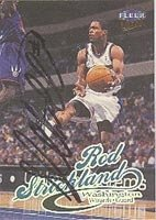 Rod Strickland Washington Wizards 1999 Fleer Ultra Autographed Hand Signed Trading... by Hall+of+Fame+Memorabilia