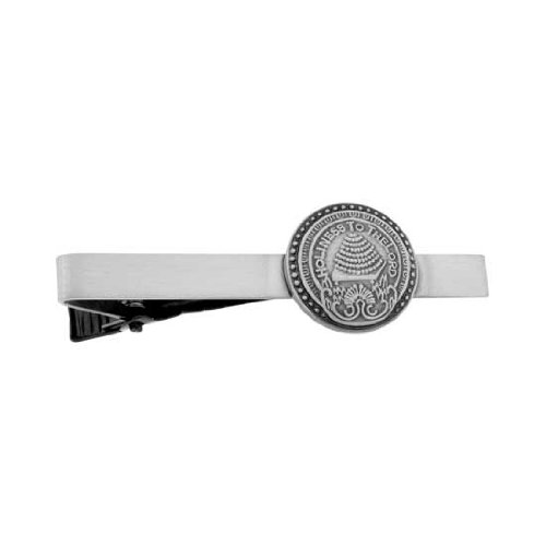 LDS Mens Antiqued Silver Salt Lake Temple Doorknob Tie Clip / Tie Bar for Boys - Missionar Gift, LDS Tie Clip, LDS Tie Bar