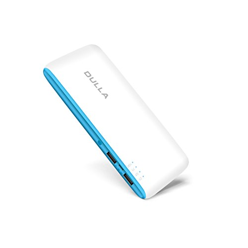 DULLA 15000mAh Portable Power Bank 2.1A Fast Charger External Battery ( 2 USB Ports)