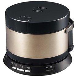 日立 IHジャー炊飯器(2合炊き) ブラウンゴールドHITACHI おひつ御膳 RZ-VS2M-N