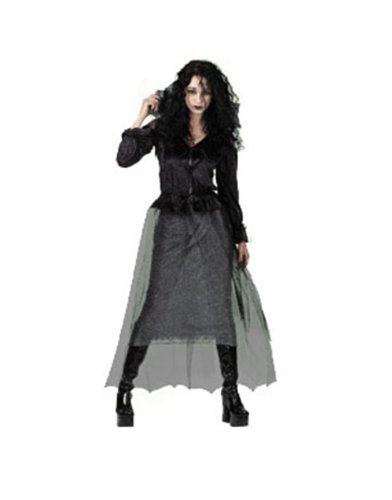 Fancy Dress Sexy Vampire Bride Adults Costume 12-14