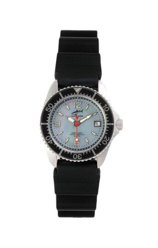 Chris Benz One Lady CBL-H-SW-KB Reloj elegante para mujeres Reloj de Buceo
