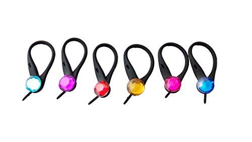 AVIRGO 6 pcs Soft Zipper Pull Charms for Backpack Bag Pendant Jacket Set # 27-3 - 1