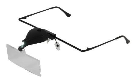 Magnifier Glasses With Led - Three Lenses Included