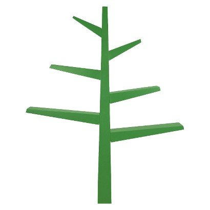 Babyletto Spruce Tree Bookcase - Green - Bookshelf - Kids'Furniture - Home Decor - Living room Decorations - It will look fantastic in your Home.
