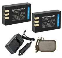 Fuji NP140, S200, S205 Digital Replacement Battery Plus Travel Charger