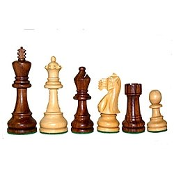 English Sheesham/Kari 3.5 in Chessmen