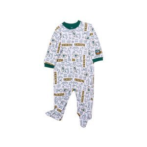 NFL Green Bay Packers Boy's Sleep N Play Sleepers, 3-6 Months, Green at Amazon.com