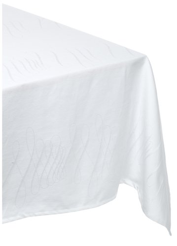 Waterford Table Maeve 70-inch by 144-inch Oblong Tablecloth, Pearl - Buy Waterford Table Maeve 70-inch by 144-inch Oblong Tablecloth, Pearl - Purchase Waterford Table Maeve 70-inch by 144-inch Oblong Tablecloth, Pearl (Waterford, Home & Garden, Categories, Kitchen & Dining, Kitchen & Table Linens, Tablecloths)