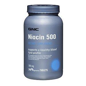 GNC Niacin 500 100 TabletsB0006FZUFY