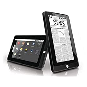 New COBY ELECTRONICS CORP. 7inch 16:9 MID Android OS 2.1 4 GB Plays video music photo formats