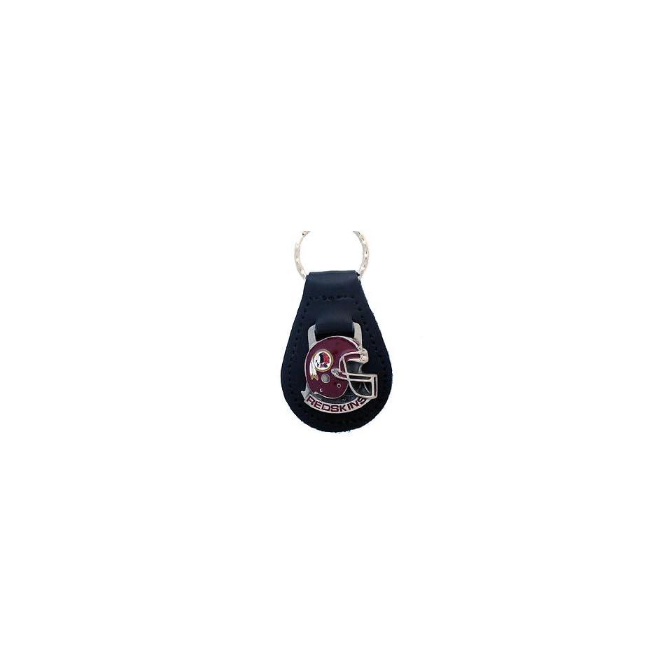 Washington Redskins NFL Small Leather Key Ring