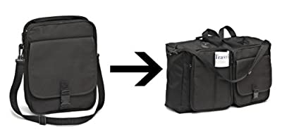 Amazing Travel Genie - Converts from a Shoulder Bag to a Full Size Holdall! from MP