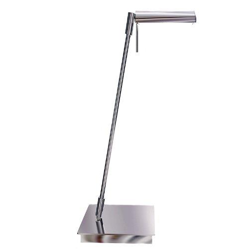 Greenlite Lighting Led/Desk 5-Watt Led Desk Lamp, Silver
