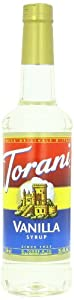 Torani Syrup, Vanilla, 25.4 Ounce (Pack of 4)