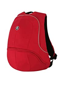 Crumpler Muffin Top Half Photo Backpack Sac à dos pour Appareil Photo Rouge/Argent