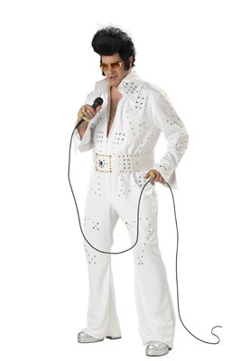 Elvis Jewled jumpsuit costume (Sizes: Med. thru X-Large)