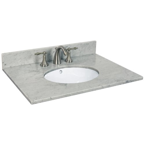 White American Standard 0611.100.020 Cornice Pedestal Lavatory Sink