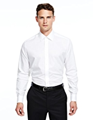 Autograph Luxury Pure Cotton Tailored Fit Shirt