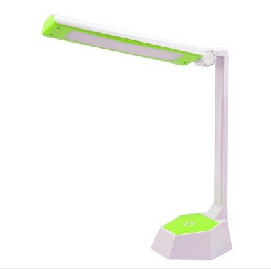 Super Bright Usb Charge Reading Lamp Energy-Saving Folding Desk Lamp Led Table Lamp Protecting Your Eyes Lamp Daylight (Green)