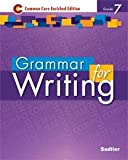 img - for Grammer for Writing - Common Core Enriched Edition - Grade 7 (Sadlier) book / textbook / text book