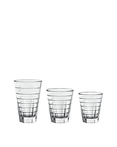 D&V Anelli 18-Piece Glassware Set