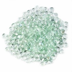 Home Locomotion - Two Pounds Clear Flat Marbles (pack of 1 EA)
