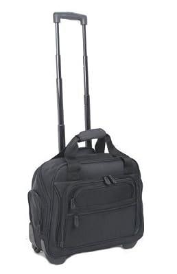 "High Quality Wheeled Cabin Laptop Suitcase Flight Bag ***15.6"" Removable Laptop Sleave***Size: 45.5cm x 38cm x 20cm***Weight 2.2kg***"