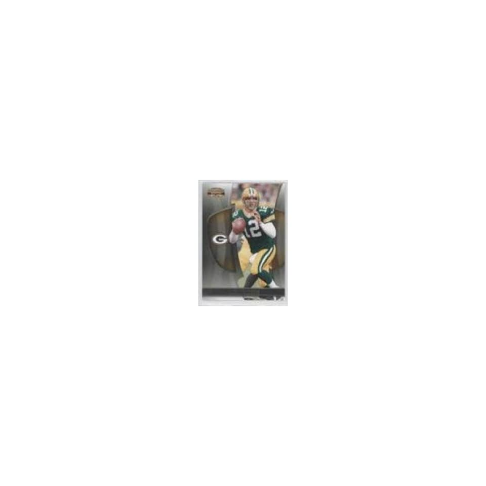 2009 Donruss Gridiron Gear #1 Aaron Rodgers   Green Bay Packers