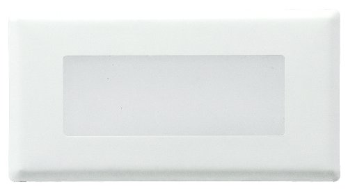 Royal Pacific 8932Wh Step Light Glass Cover, Cover Only, White