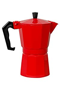 City Tea & Coffee Percolater 6 cup coffee maker ( red )