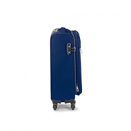Trolley cabina 4R 55X20 Exp. Ironik Blu notte 41512323