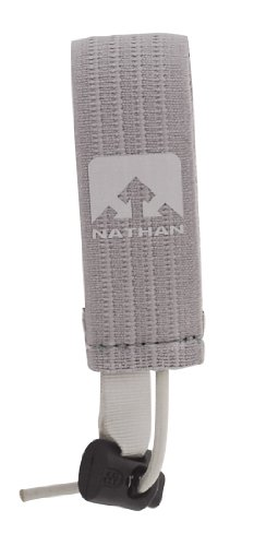 Nathan Nathan Race Number Belt (Grey, Medium/1.5-Inch)
