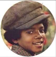 Michael Jackson and His Groovy Hat Keychain