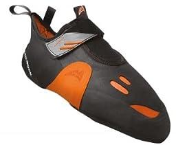 Mad Rock Mens Shark Climbing Shoe, Black/Orange, 10.5 M US