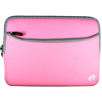 APPLE IPAD Tablet 16GB 32GB 64GB Wi-Fi WiFi 3G Soft PINK NEOPRENE SLEEVE CASE Cover Pouch Carrying Bag