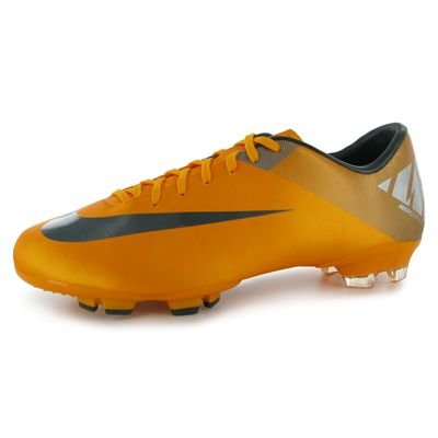 Nike Mercurial Victory II FG Mens Football Boots Orange/Black 8 UK