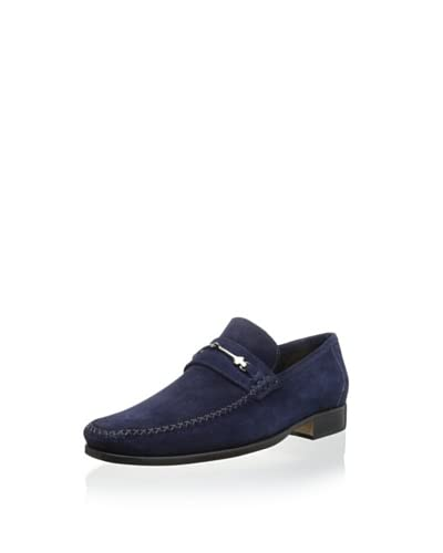 Bruno Magli Men's Pittore Loafer with Bit and Cross-Stich Vamp