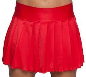 pleated mini skirt plus size style