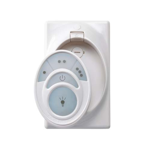 Kichler Lighting 337009R200 Cool Touch Remote Control Conversion System, White Finish front-1075124