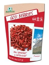 Natierra Organic Raw Goji Berries,12x8 oz