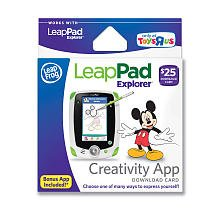 Easy to redeem for ready-to-play fun LeapFrog App Center Download Cards are easy to purchase and redeem. Gift recipients can simply go online to the LeapFrog App Center and search for the content they'd like by category, skill, age or favorite character.