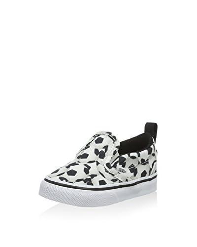 Vans Shoe Td Slip-On V (Sports) Soccer weiß/schwarz
