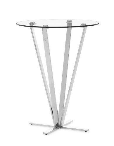 Marvelous Compare Zuo Mimosa Bar Table Stainless Steel William M Beaez Customarchery Wood Chair Design Ideas Customarcherynet