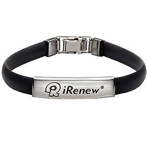 I Renew Energized Well Being Health Bracelet Black