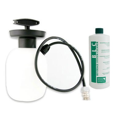 Deluxe Hand Pump Pressurized Keg Beer Cleaning Kit w/ 33 oz. CleanerDeluxe Hand Pump Pressurized Keg Beer Cleaning Kit w/ 33 oz. Cleaner