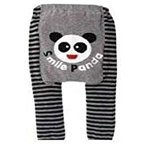 "Baby / Toddler Leggings , Trousers - ""Smile Panda"" 6-12 months + FREE BIB"