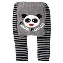 """Baby / Toddler Leggings , Trousers - """"Smile Panda"""" 6-12 months + FREE BIB"""