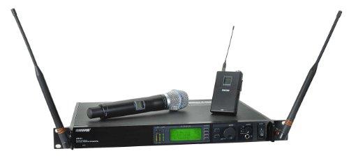 Shure Ur124S/Beta87C Wireless Combo System, H4
