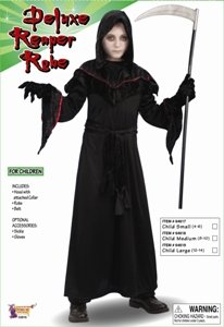 Forum Novelties Deluxe Reaper Robe Child Costume, Medium